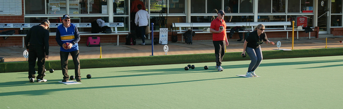 Social night bowls runs from Oct to Mar